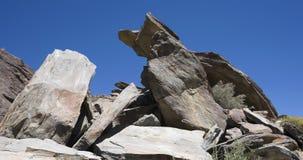 Ινδικοί βράχοι επιφύλαξης Στοκ εικόνα με δικαίωμα ελεύθερης χρήσης