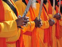 ινδικοί μοναχοί Στοκ Εικόνα