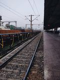 ινδικοί σιδηρόδρομοι Στοκ Εικόνα