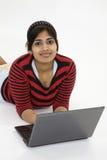 ινδικός έφηβος στοκ εικόνες