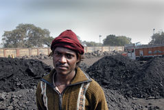 ινδικός εργαζόμενος άνθρ&al Στοκ εικόνες με δικαίωμα ελεύθερης χρήσης