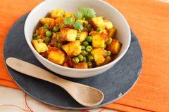 ινδικός χορτοφάγος πιάτω&nu Στοκ Εικόνα