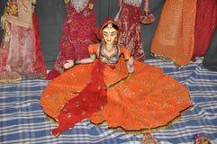 Ινδικός χορός μαριονετών Στοκ φωτογραφία με δικαίωμα ελεύθερης χρήσης