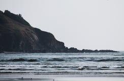 Ινδικός Ωκεανός σε Goa Παραλία Morjim Στοκ φωτογραφία με δικαίωμα ελεύθερης χρήσης