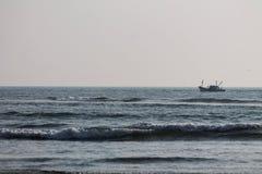 Ινδικός Ωκεανός σε Goa Στοκ Φωτογραφίες