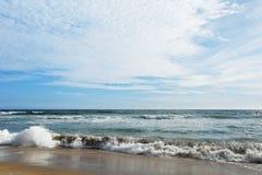 Ινδικός Ωκεανός στον ηλιόλουστο καιρό Στοκ Εικόνα
