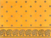 ινδικό έγγραφο παραδοσι&alp Στοκ εικόνα με δικαίωμα ελεύθερης χρήσης
