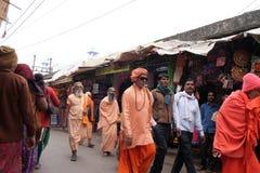 Ινδικό ιερό άτομο sadhu Στοκ Φωτογραφίες