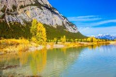 Ινδικό καλοκαίρι στα δύσκολα βουνά του Καναδά Στοκ φωτογραφία με δικαίωμα ελεύθερης χρήσης