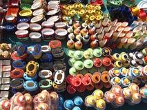 ινδικό κατάστημα αγγειοπ στοκ φωτογραφίες με δικαίωμα ελεύθερης χρήσης