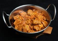 ινδικό κρέας αρνιών κάρρυ Στοκ Εικόνες