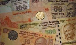 Ινδικό νόμισμα Στοκ εικόνες με δικαίωμα ελεύθερης χρήσης