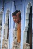 Ινδικό παιδί Στοκ εικόνες με δικαίωμα ελεύθερης χρήσης