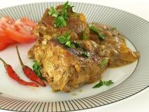 Ινδικό πιάτο κάρρυ Στοκ Εικόνες