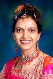 Ινδικό πορτρέτο γυναικών Στοκ Φωτογραφία
