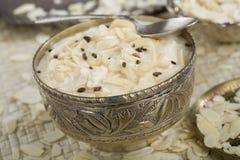 ινδικό ρύζι kheer τροφίμων επιδ&omic Στοκ Φωτογραφίες