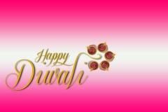 Ινδικό φεστιβάλ Diwali, σχέδιο λαμπτήρων Diwali στοκ εικόνες