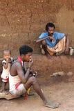 ινδικό χωριό ζωής Στοκ φωτογραφία με δικαίωμα ελεύθερης χρήσης