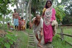 ινδικό χωριό ζωής Στοκ Φωτογραφίες