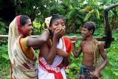 ινδικό χωριό ζωής Στοκ εικόνα με δικαίωμα ελεύθερης χρήσης
