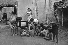 ινδικό χωριό ζωής Στοκ Εικόνες