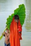 ινδικό χωριό παιδιών Στοκ Εικόνες