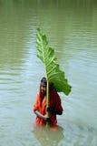 ινδικό χωριό παιδιών Στοκ εικόνα με δικαίωμα ελεύθερης χρήσης