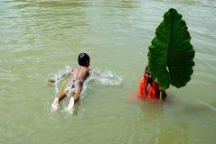 ινδικό χωριό παιδιών Στοκ Εικόνα