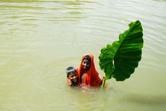 ινδικό χωριό παιδιών Στοκ εικόνες με δικαίωμα ελεύθερης χρήσης
