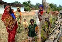 Ινδικό χωριό Στοκ φωτογραφία με δικαίωμα ελεύθερης χρήσης