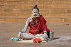 Ινδικό sadhu (ιερό άτομο) Στοκ φωτογραφία με δικαίωμα ελεύθερης χρήσης
