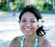 ινδονησιακή γυναίκα Στοκ εικόνα με δικαίωμα ελεύθερης χρήσης