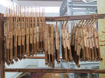 Ινδονησιακό μουσικό όργανο Στοκ εικόνα με δικαίωμα ελεύθερης χρήσης