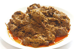 ινδονησιακό rendang τροφίμων βόειου κρέατος Στοκ εικόνες με δικαίωμα ελεύθερης χρήσης