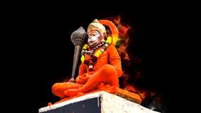 Ινδός Θεός Hanuman μαγικά που προσεύχεται