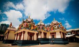 ινδός καλυμμένος ναός πόθω& Στοκ Φωτογραφία
