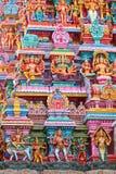 ινδός ναός γλυπτών Στοκ εικόνα με δικαίωμα ελεύθερης χρήσης