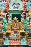 ινδός ναός γλυπτών Στοκ Εικόνες