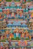 ινδός ναός γλυπτών Στοκ Εικόνα