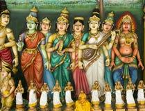 Ινδός ναός στη Κουάλα Λουμπούρ, Μαλαισία Στοκ Εικόνες