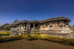 ινδός ναός στον τόπο προορισμού τουριστών karnataka Στοκ εικόνες με δικαίωμα ελεύθερης χρήσης