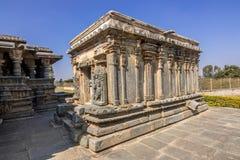 ινδός ναός στον τόπο προορισμού τουριστών karnataka Στοκ Εικόνα