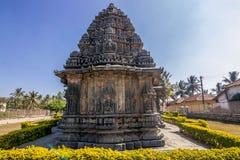 Ινδός ναός στον τόπο προορισμού τουριστών karnataka hasan Στοκ φωτογραφία με δικαίωμα ελεύθερης χρήσης
