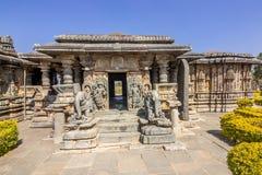 Ινδός ναός στον τόπο προορισμού τουριστών karnataka hasan Στοκ Εικόνα