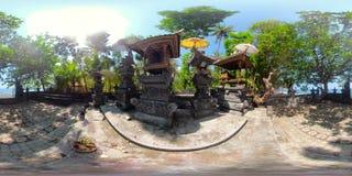 Ινδός ναός στο Μπαλί vr360 απόθεμα βίντεο