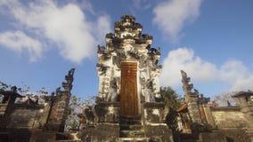 Ινδός ναός στο νησί Nusa Penida Στοκ Εικόνες