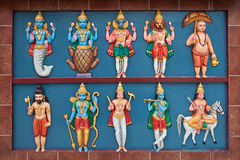 ινδός ναός συμβολισμού Στοκ εικόνες με δικαίωμα ελεύθερης χρήσης