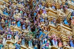 Ινδός ναός Sri Muthumariamman Thevasthanam στοκ φωτογραφίες