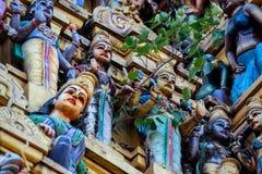 Ινδός ναός Sri Muthumariamman Thevasthanam στοκ φωτογραφία με δικαίωμα ελεύθερης χρήσης