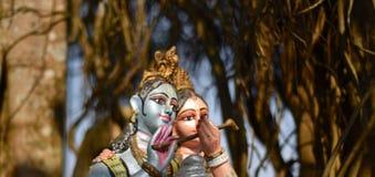 Ινδό θρησκευτικό άγαλμα Krishna Sri - φωτογραφία αποθεμάτων στοκ φωτογραφία